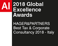 Best Tax & Corporate Consultancy 2018 – Italy